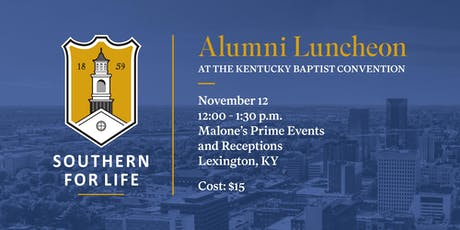 SBTS Alumni & Friends Lunch at the Kentucky Baptist Convention tickets