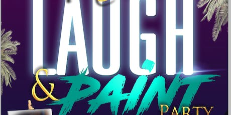 Miami Laugh and Paint Party - Stand Up Comedy and Paint Show tickets