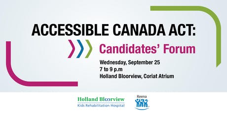 Accessible Canada Act: Candidates' Forum tickets