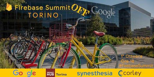 Firebase Summit OFF @ Torino