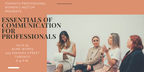 Essentials of Communication for Professionals tickets
