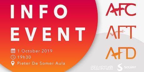 Info Event - AFC AFD AFT billets