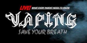 Save Your Breath: Vaping Alert - Harrington Middle...