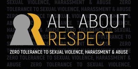 All About Respect: Bystander Training (Staff) 19th November, 2019 tickets