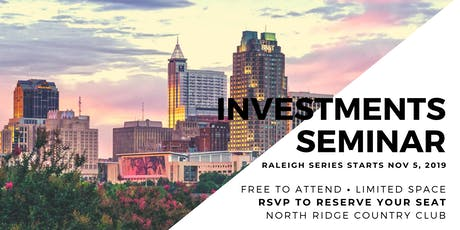 Raleigh Series: Making Money Selling Single Family Homes As Investments tickets