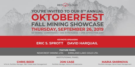 Red Cloud 2019 Fall Mining Showcase tickets