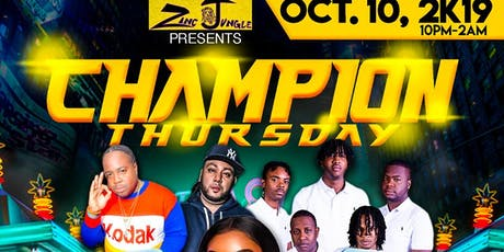 Champion Thursday tickets