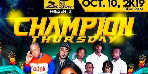 Champion Thursday