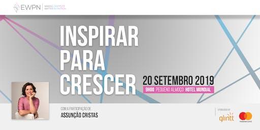"""EWPN Local Meetup Portugal - """"Inspirar para crescer"""" - com Assunção Cristas"""