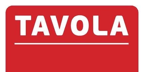 Tavola 15-17 March 2020 / Tavola 15- 17 Mawrth 2020 billets