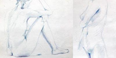 Akt & Figürlich Zeichnen | Zeichenkurs im Stellwerk | 12.11. - 10.12.2019