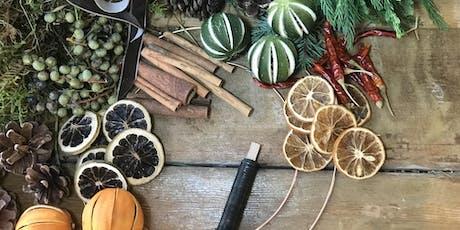 Festive Wreath Making Workshop tickets