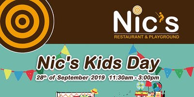Nic's Kids Day - Booth Booking for Kids Flea Market
