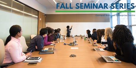 Fall Seminar Series - Business Planning tickets