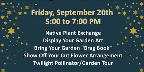 An Evening in the Garden - Meet Fellow Native Plan tickets