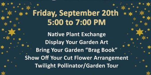 An Evening in the Garden - Meet Fellow Native Plan