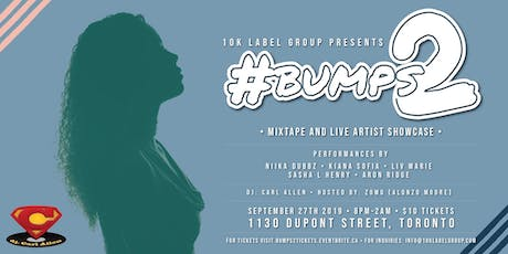 #Bumps2 tickets