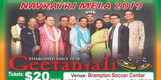 Geetantali Group MGSO Navratri Mela at Brampton Soccer Center on Sept 28th.