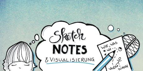 Sketchnotes und Visualisierung - Einsteigerkurs Tickets