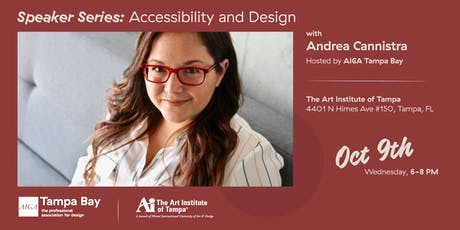 RESCHEDULED – Speaker Series: Accessibility and Design w/ Andrea Cannistra tickets