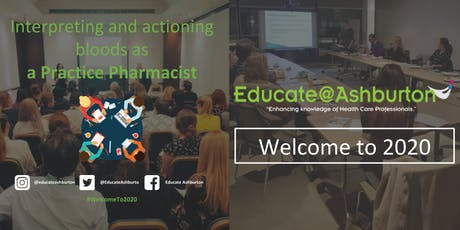 Interpreting + actioning bloods as a Practice Pharmacist (The Consultation) tickets