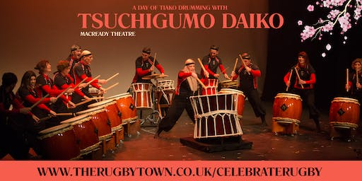 Taiko Drumming - Celebrate Rugby