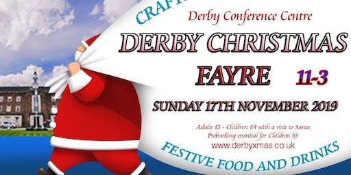 The Derby Conference Centre Christmas Fayre