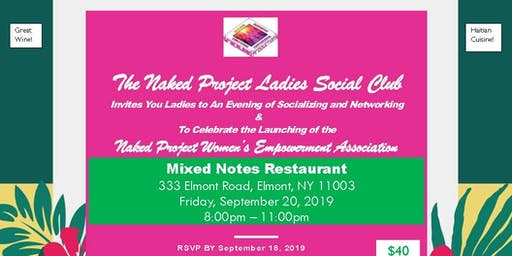 The Naked Project Ladies Social Club Evening of Socializing & Networking