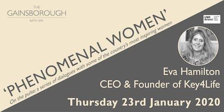 'Phenomenal Women' 2020: Eva Hamilton tickets