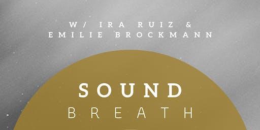 SoundBREATH: breathwork & sound healing