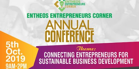 EC Conference is a growth focused events for both  entrepreneurs and intending entrepreneurs. tickets