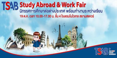 TSAB STUDY ABROAD & WORK FAIR