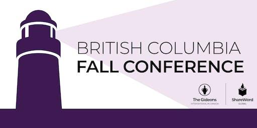BC / Yukon Gideon Fall Conference