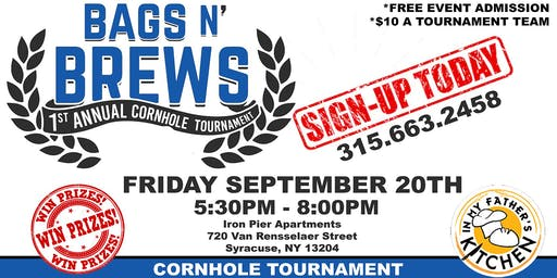 Bags N' Brews Cornhole Tournament & MORE!