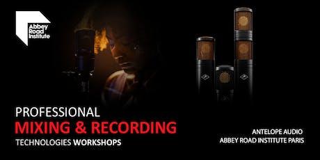 Professional Mixing & Recording Technologies Workshops billets