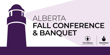 2019 Gideons Alberta Fall Conference  tickets