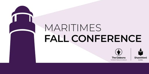2019 Maritime Gideons Fall Conference
