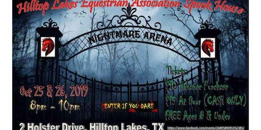 HLEA Spook House - NIGHTMARE ARENA
