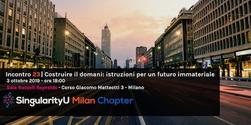 Costruire il domani: istruzioni per un futuro immateriale