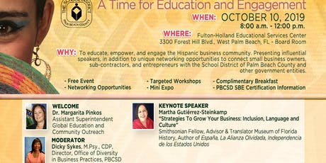 Inaugural Hispanic History Month Celebration: A Time for Education and Engagement 2019 tickets