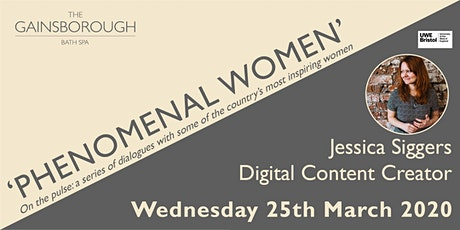 'Phenominal Women' 2020: Jessica Siggers tickets