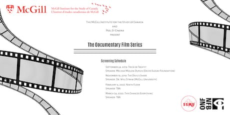 Documentary Film Series - Trick or Treaty with Melissa Mollen Dupuis billets