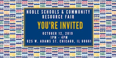 Noble Schools & Community Resource Fair