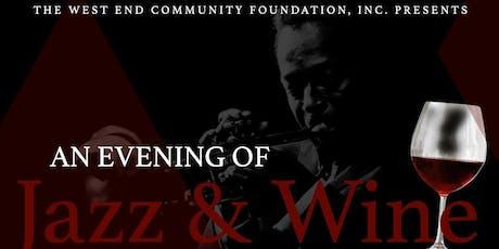 An Evening of Jazz & Wine tickets