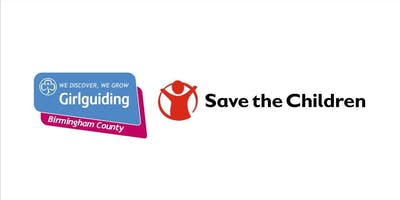 Girlguiding Birmingham County Show for Save the Children