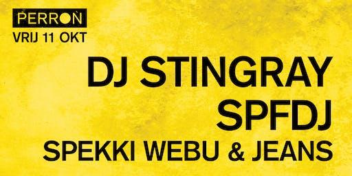 DJ STINGRAY, SPFDJ, SPEKKI WEBU & JEANS