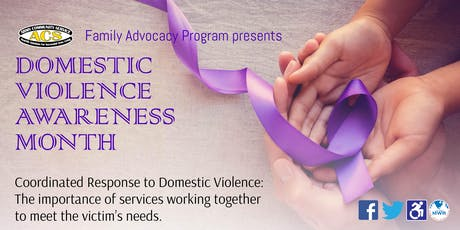 Fort Carson Domestic Violence Awareness Month: Coordinated Response to Domestic Violence tickets