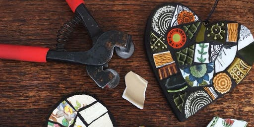 Beginners Mosaic Workshop with Helen Clues