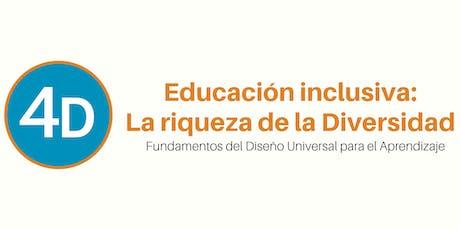 Educación Inclusiva - La riqueza de la Diversidad entradas