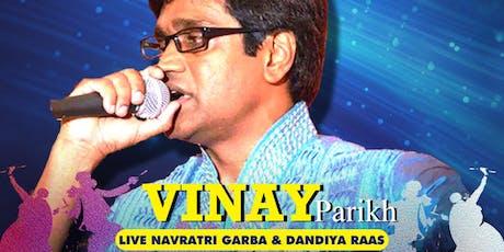 Vinay Parikh - Voice of Vadodara - Biggest Navratri of DMV(MD) tickets